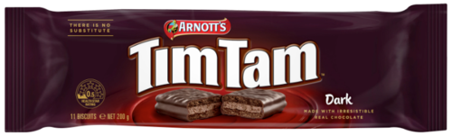 TimTam Dark Chocolate,      2,4 €/100g