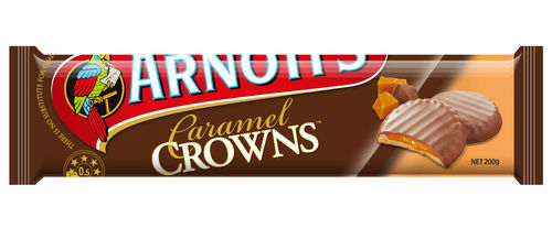Arnotts Caramel Crowns, 1,99 €/100g